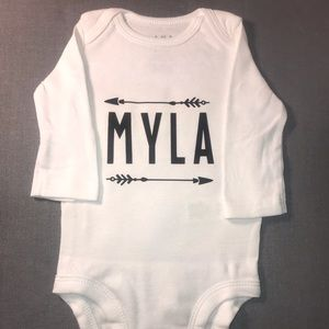 Personalized Onesies!